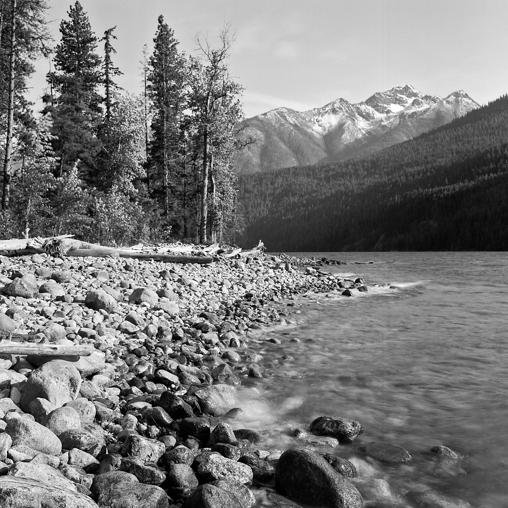Moore Point, Lake Chelan-Sawtooth Wilderness, Washington © 2014.  Image: Rolleiflex 2.8 F + Zeiss Planar 1:2.8/80mm.