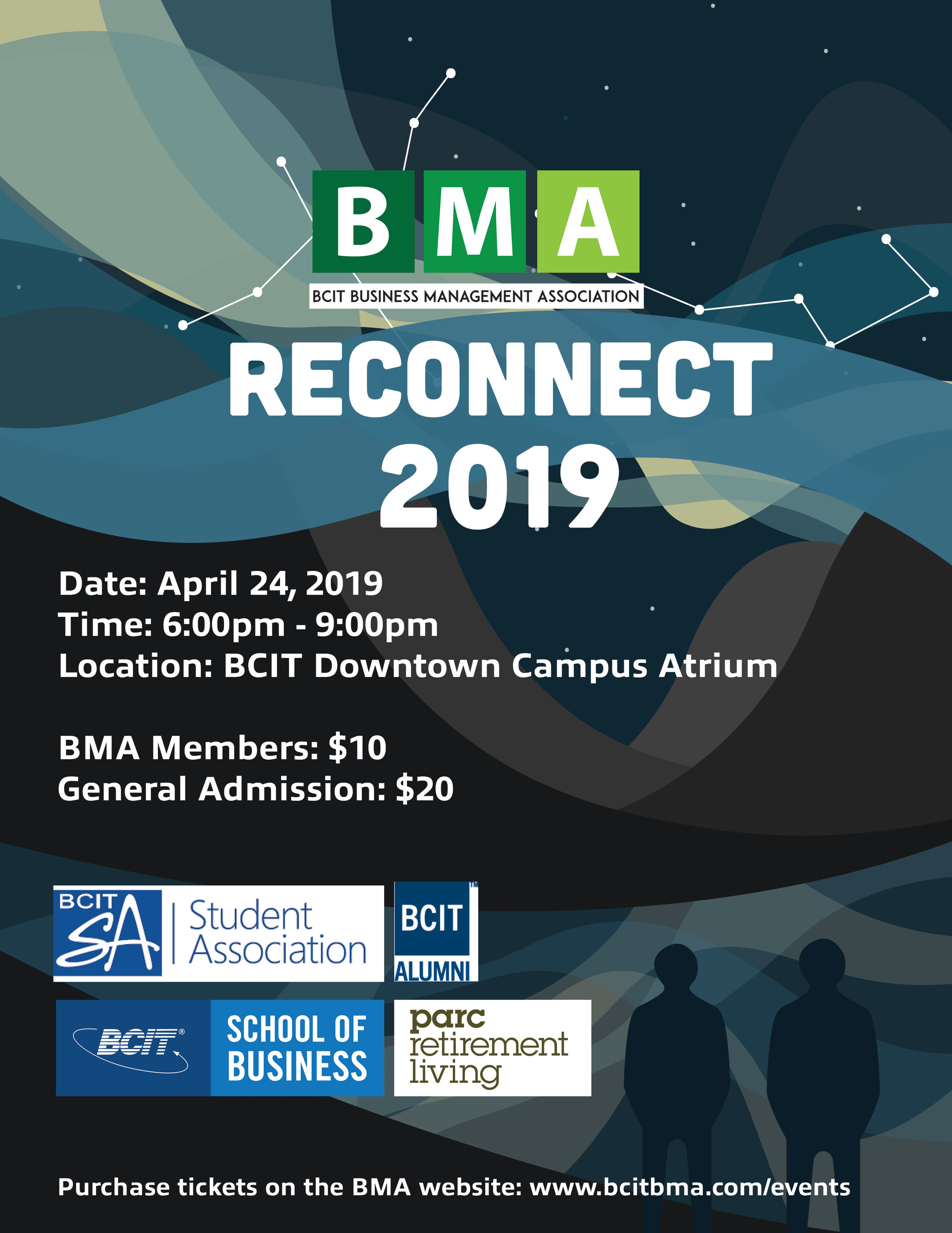 ReConnect 2019 - Reconnect is an amazing opportunity to bring together alumni, students of BCIT's School of Business, and industry professionals. The night is a networking event for participants to make connections, talk about business, the current job market and career transitions.