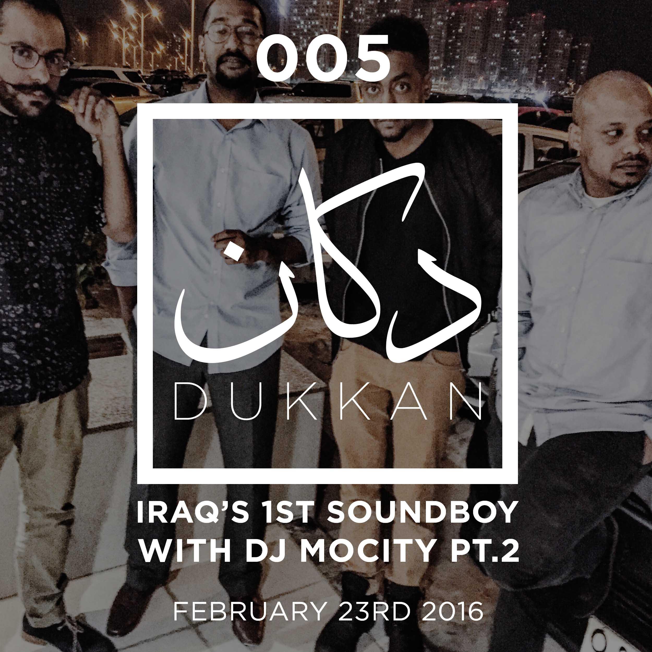 E005-Iraqs First Soundboy with dj mocity