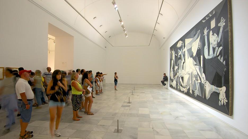 Picasso's Guernica at the Reina Sofia, Madrid.