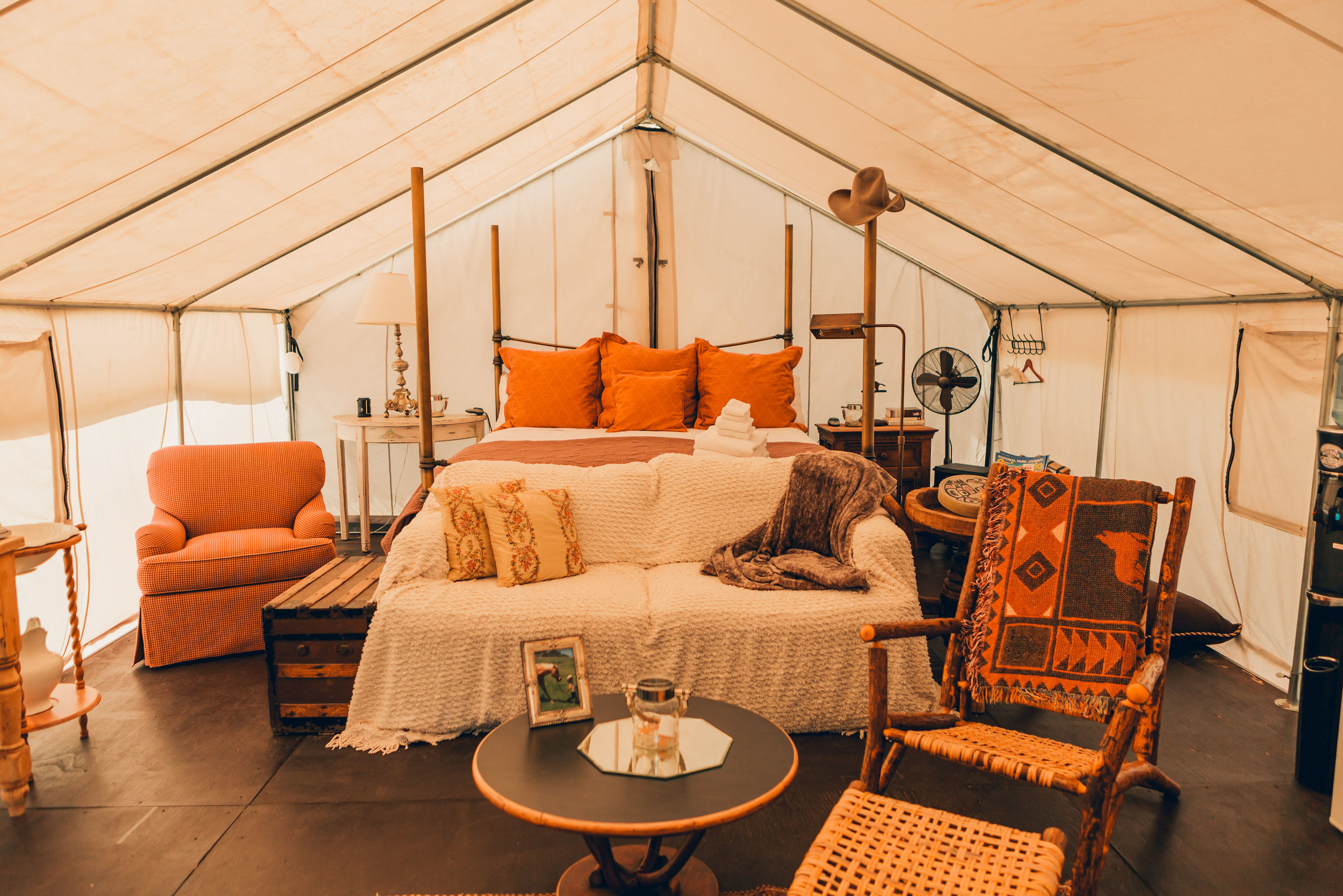 Glamping Safari Tent out of Africa