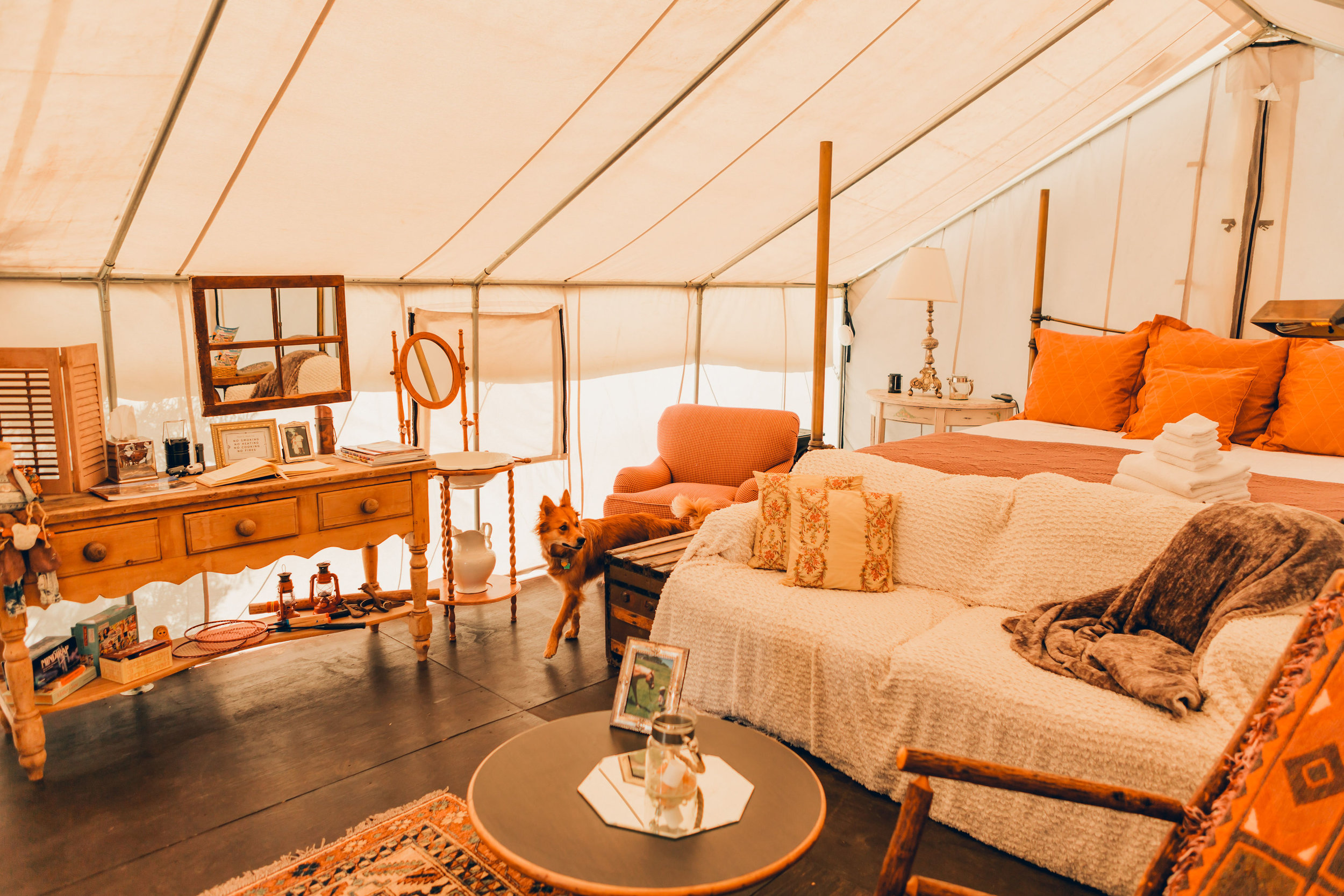Out of Africa Safari Tent