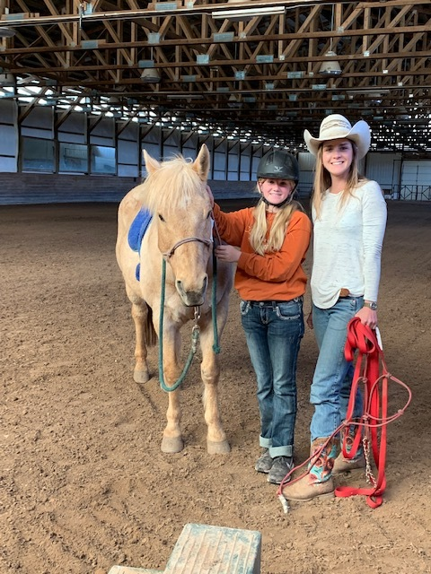 Riding Lesson with Merrill Johnson
