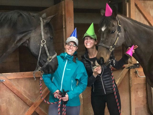 We love to celebrate birthdays at our barn!