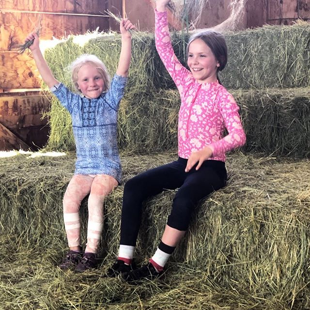 This is why I love to give farm tours and have families stay on the ranch. It is all about smiles!