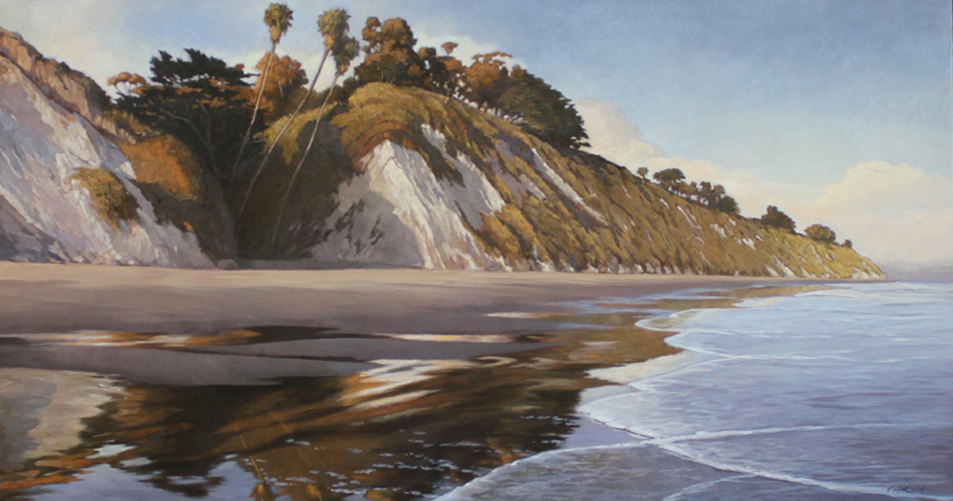 End of Summer, 17x33, oil on board, sold.