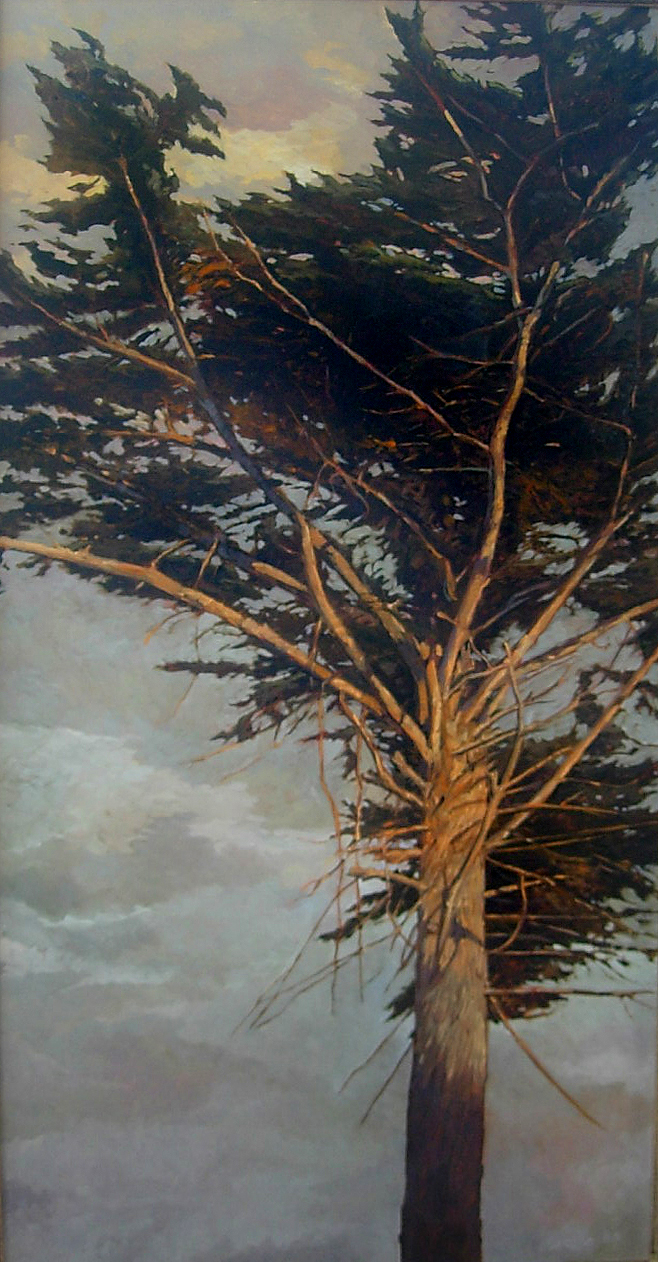 Reaching High 30x15, oil on canvas, sold.