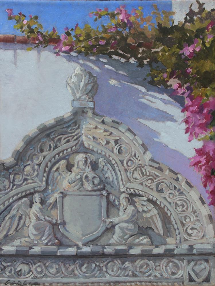 Casa Del Herrero , 8x6, oil on board. Contact Artist's studio  SOLD