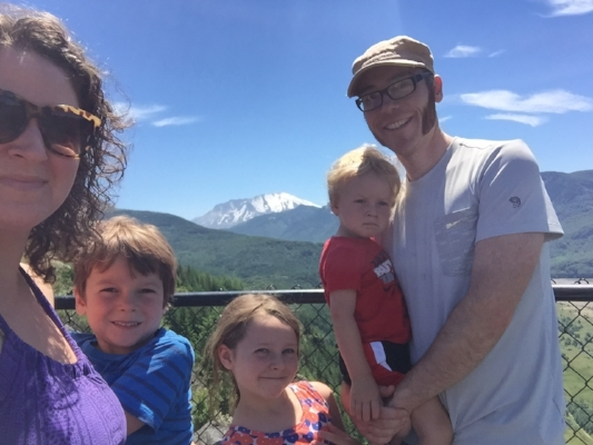 Mount St. Helen's.  I love family adventures with this crew (when they aren't whining ;)