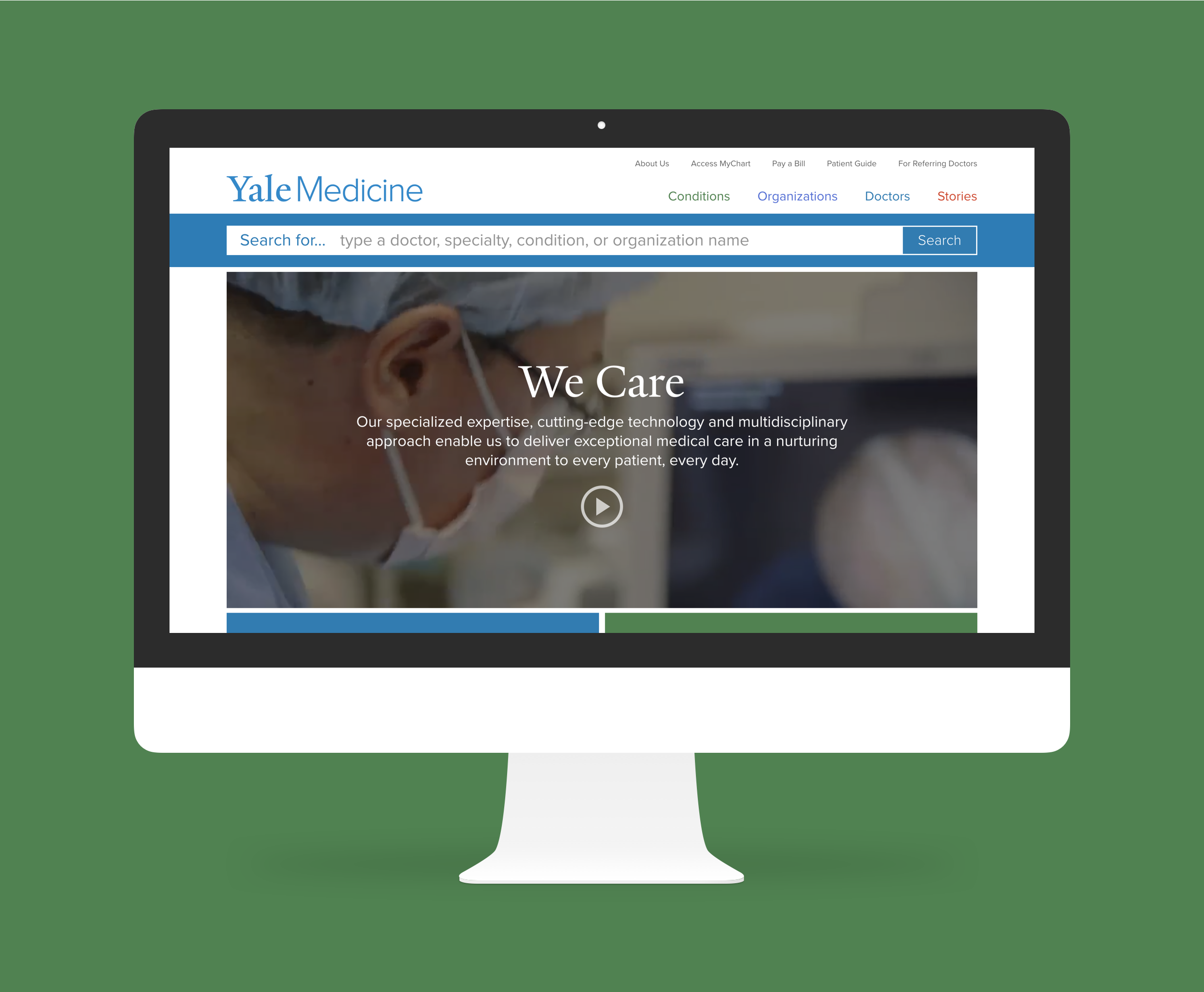 Yalemedicine.org - 2016 | Launching a responsive patient site.