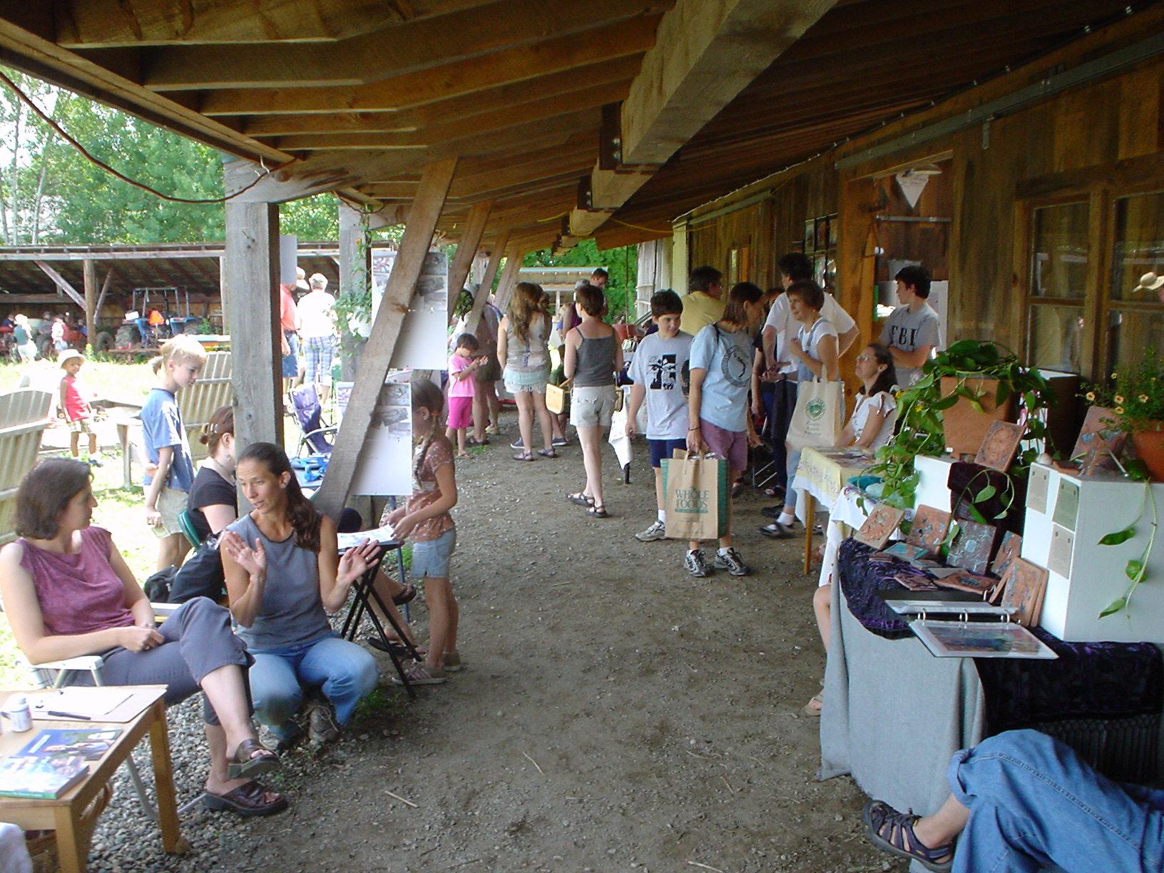 Art Behind The Barn