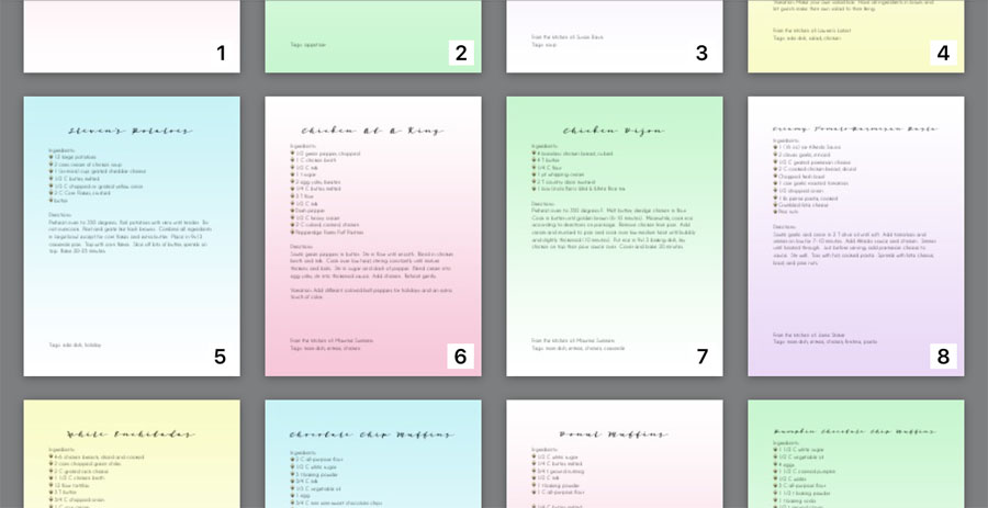 Design_Organize_Party_iBooks_iPhone_Recipe_Book