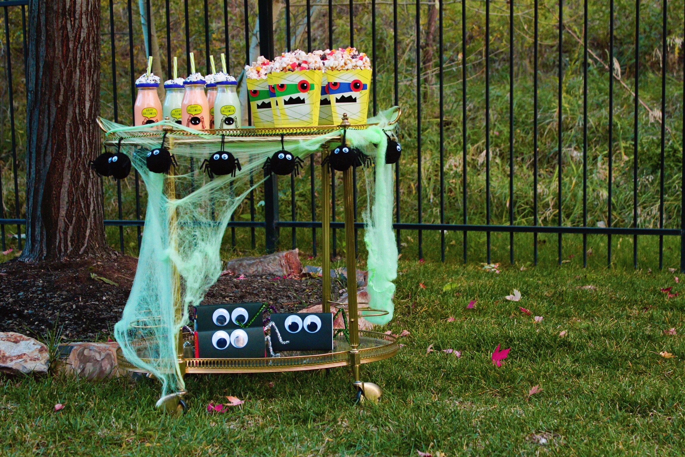 Halloween Movie Snack Bar Cart Design Organize Party.jpg