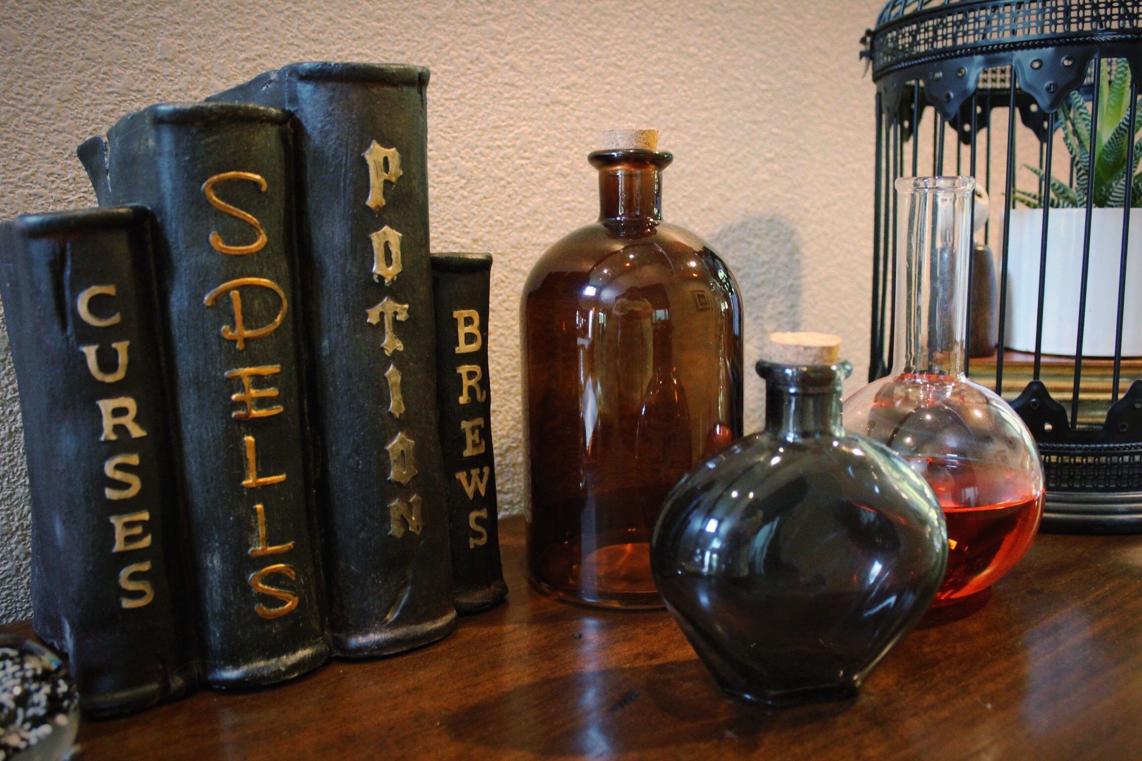 harry potter party_potions lab_spells_design organize party.JPG