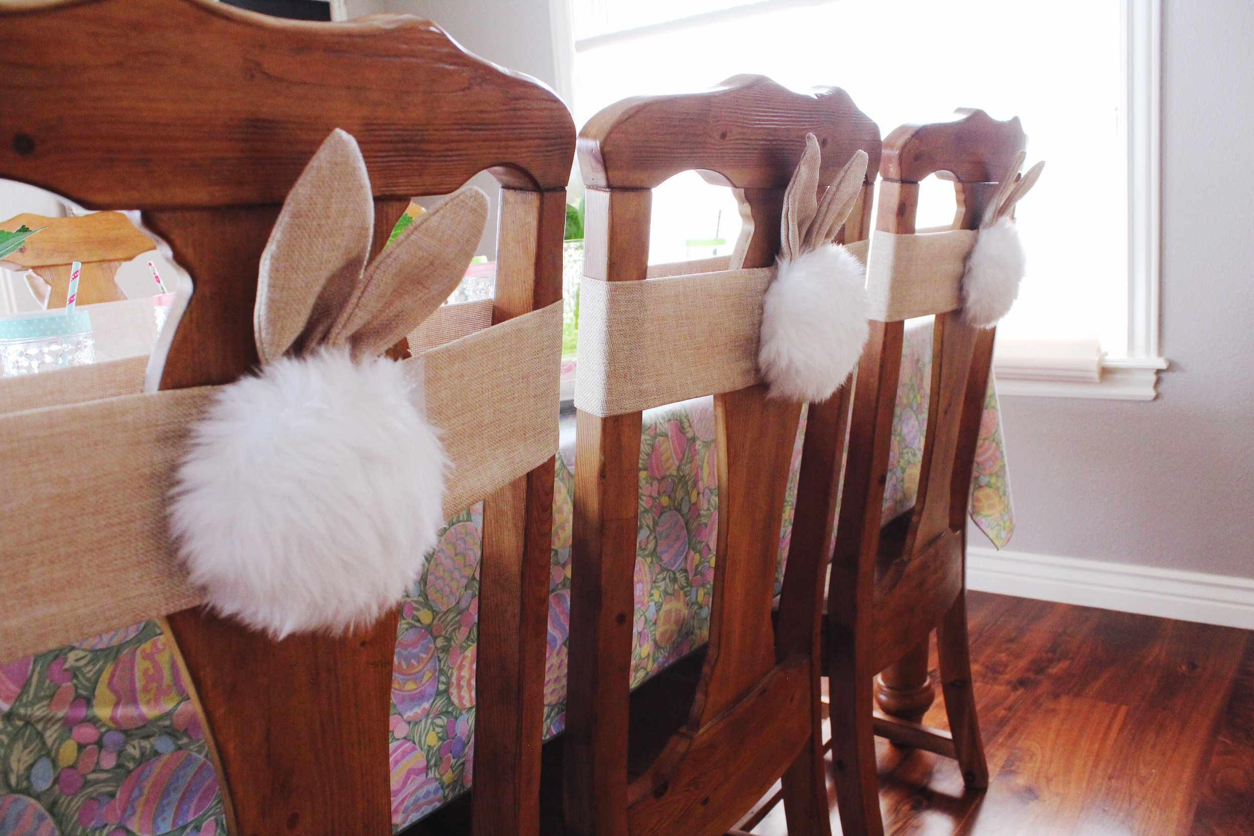 Easter Bunny Tail Chair Backs_Pier 1 Imports_ Party Ideas_Design Organize Party.JPG