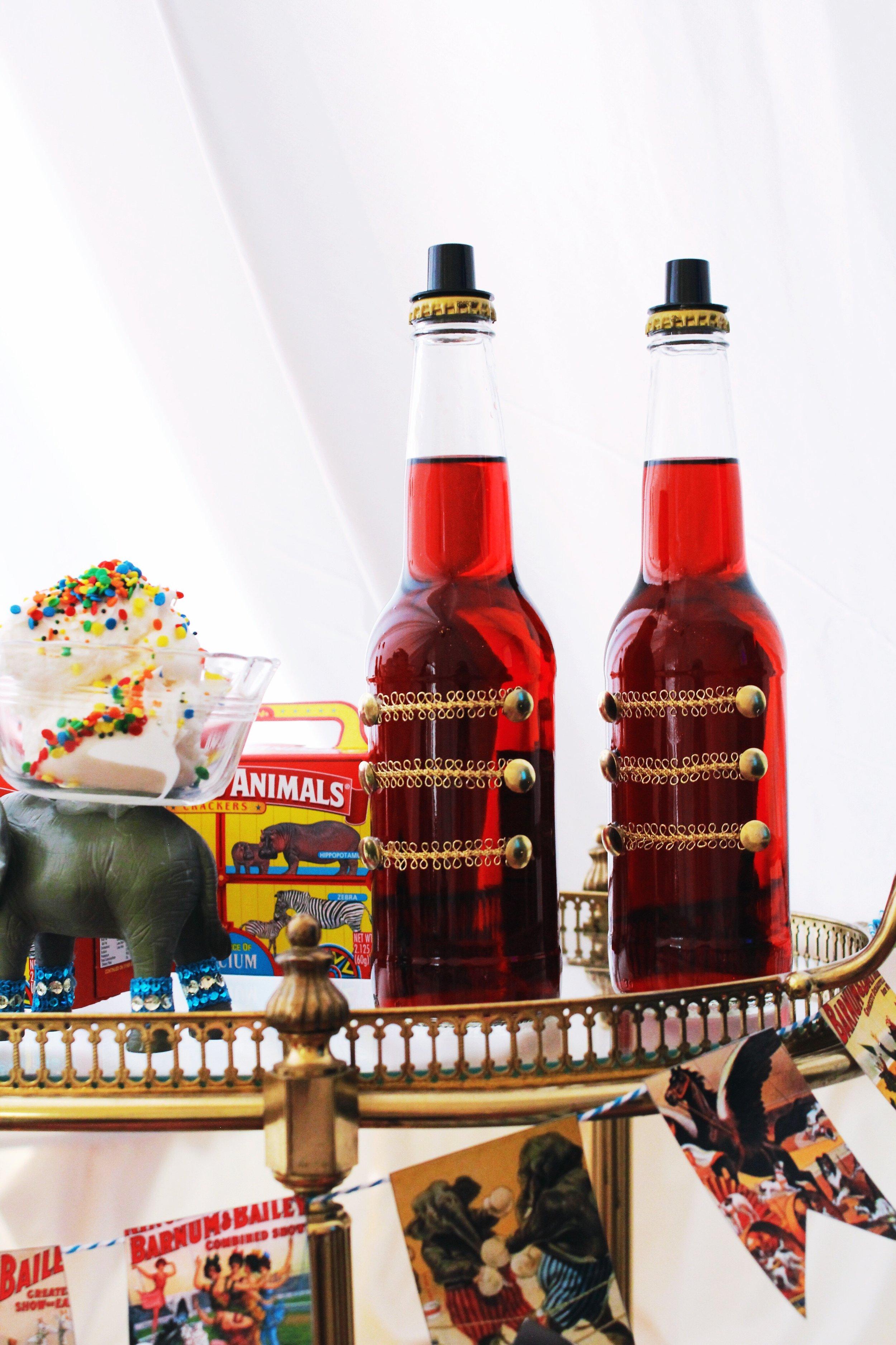 The Greatest Showman Movie Party_Ringmaster Soda Bottles.JPG