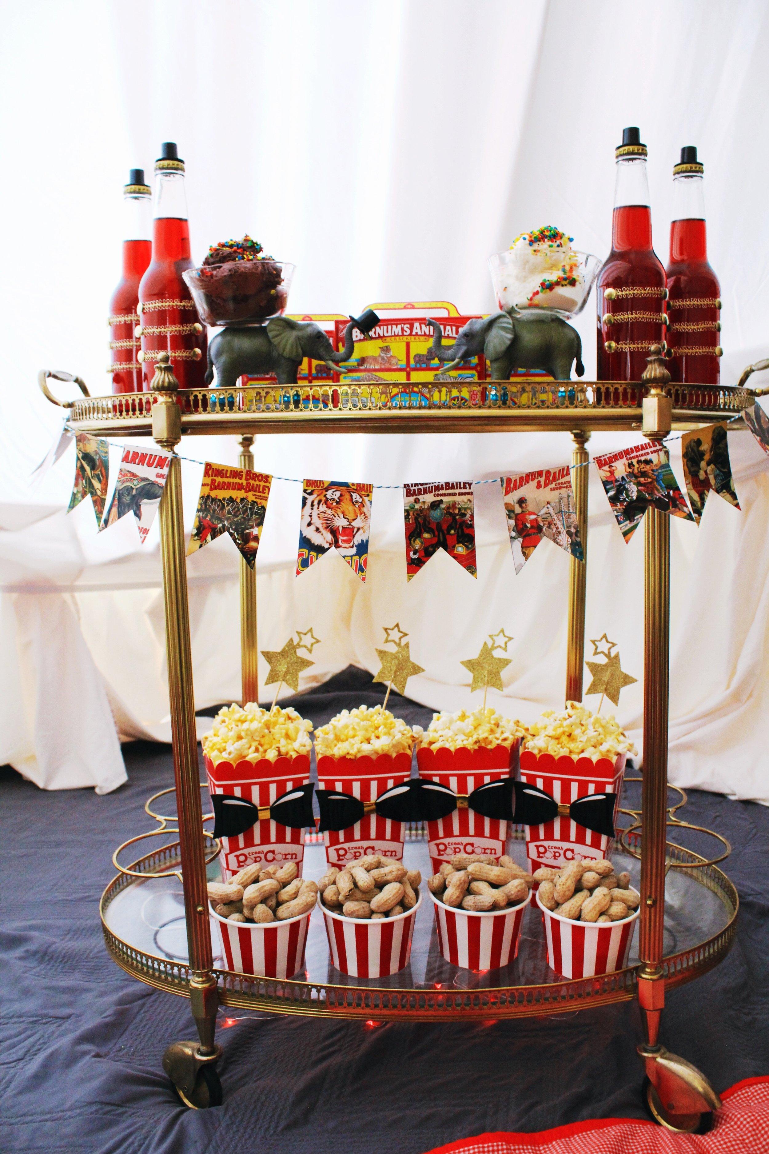 The Greatest Showman Movie Party_Bar Cart_Food Ideas_Circus Tent.JPG