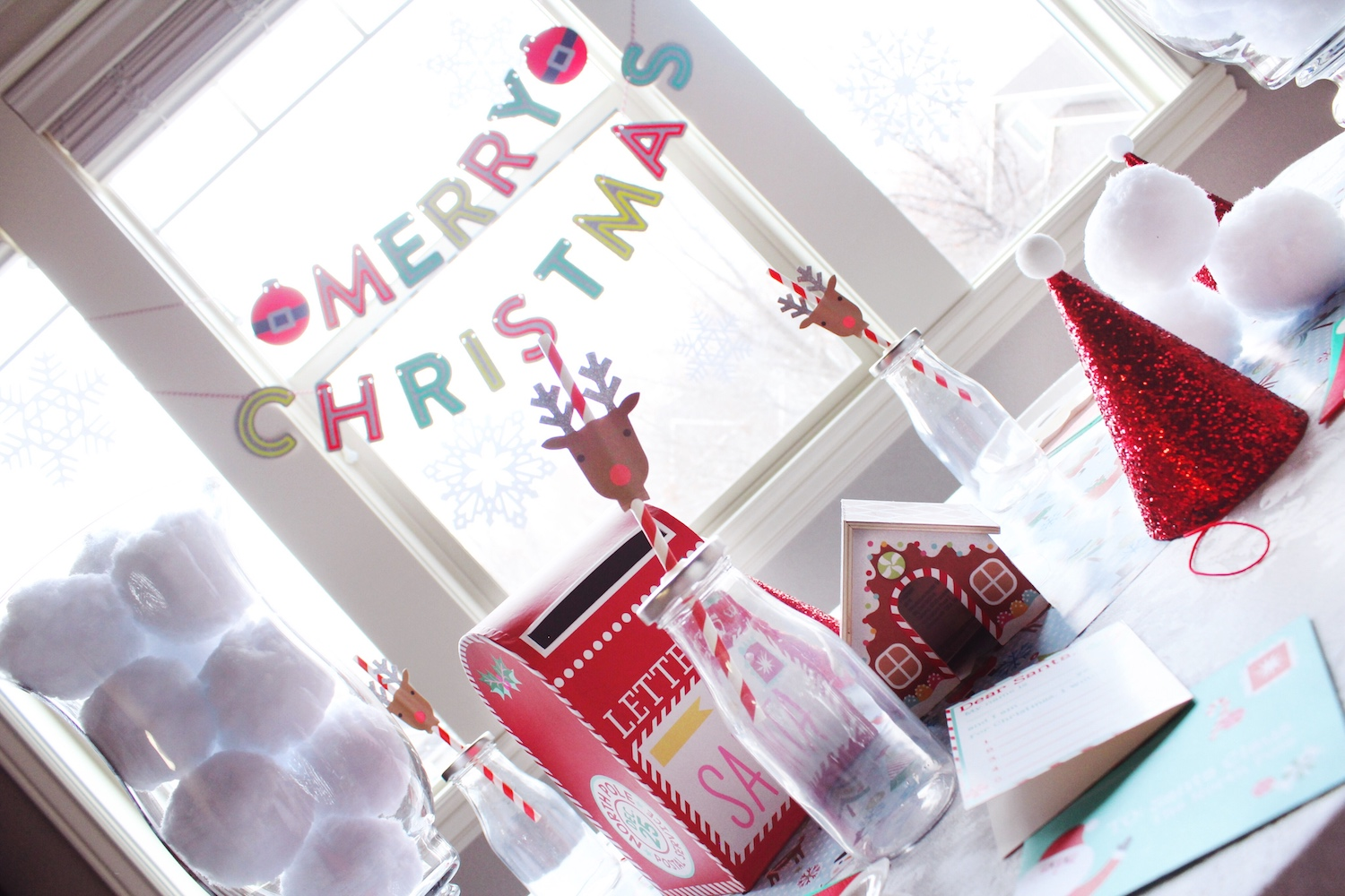 Kids Christmas Party Table Decorations _Letters to Santa_North Pole_Design Organize Party.jpg