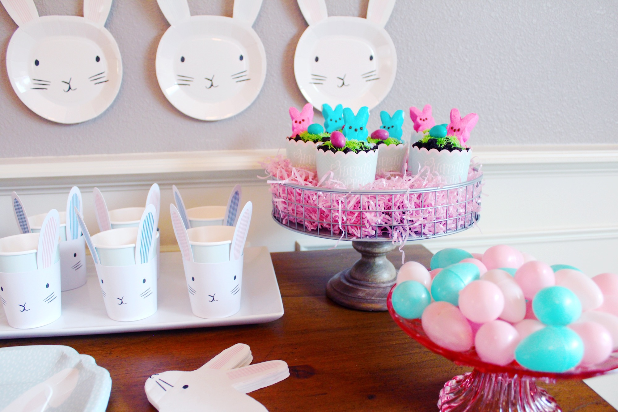 Easter Party Decor Ideas_Bunnies Eggs_Paper Goods_Treats_Design Organize Party.JPG
