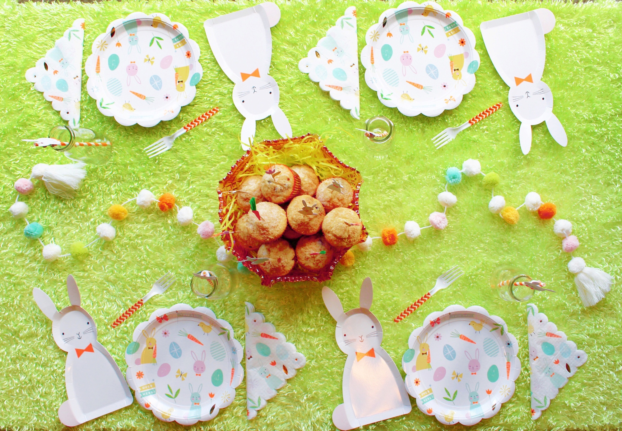 Easter Morning Bunny Egg Hunt Breakfast Brunch Tablescape_Design Organize Party.JPG