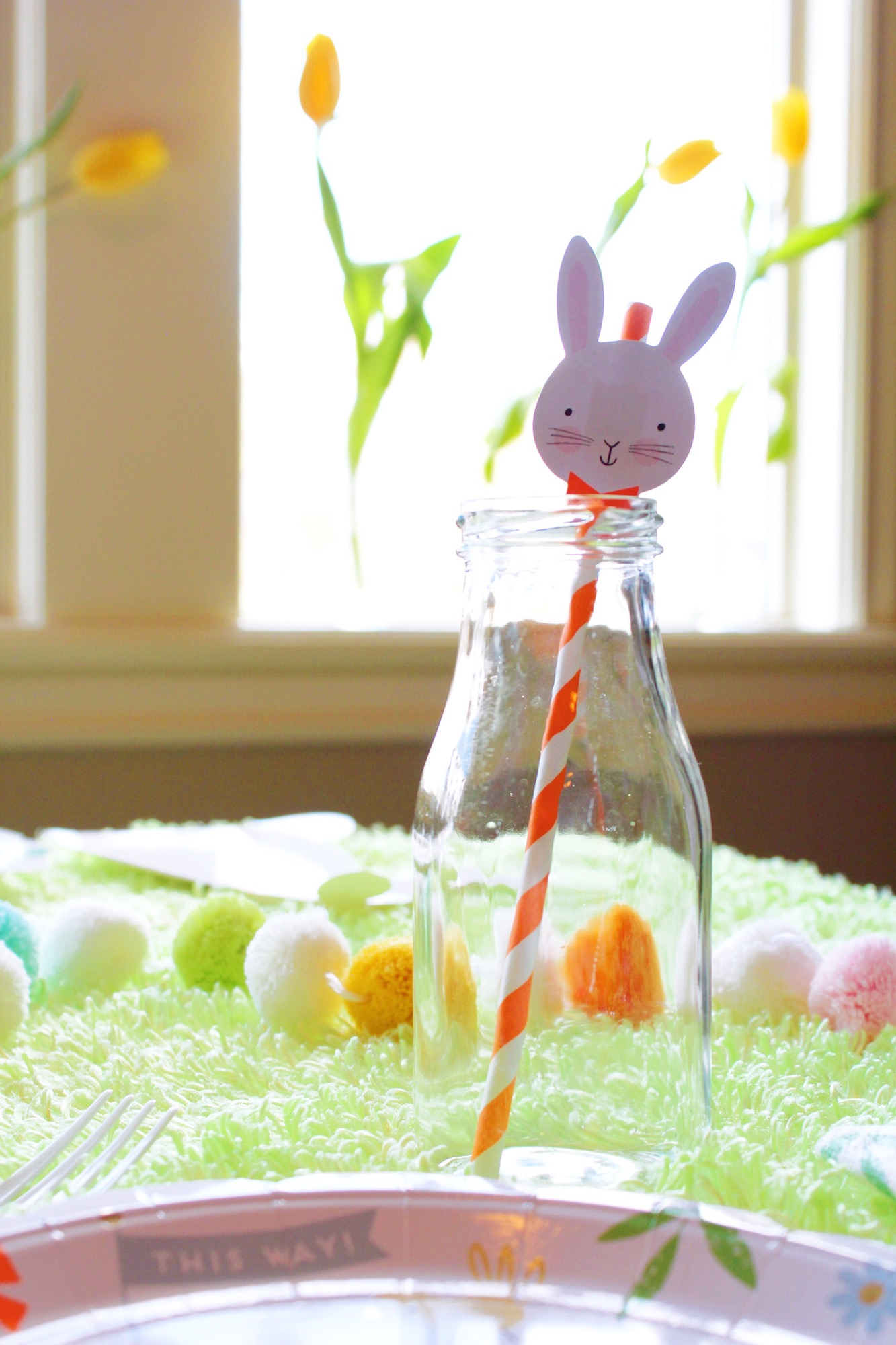 Easter Bunny Morning Egg Hunt Breakfast_Rabbit Straw_Design Organize Party.JPG