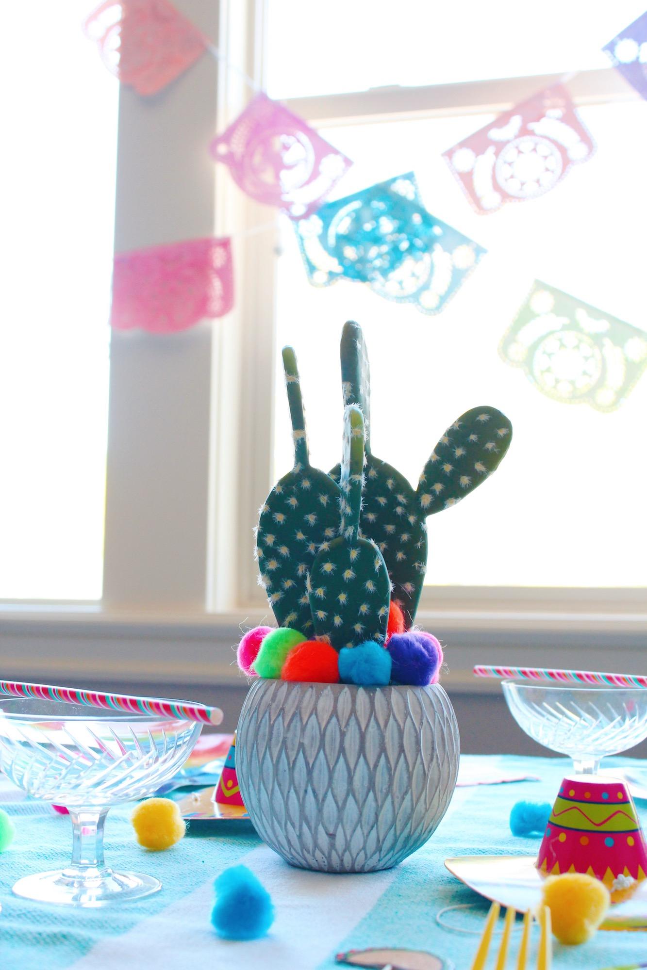 Cinco de Mayo Cactus Centerpiece_Design Organize Party.JPG