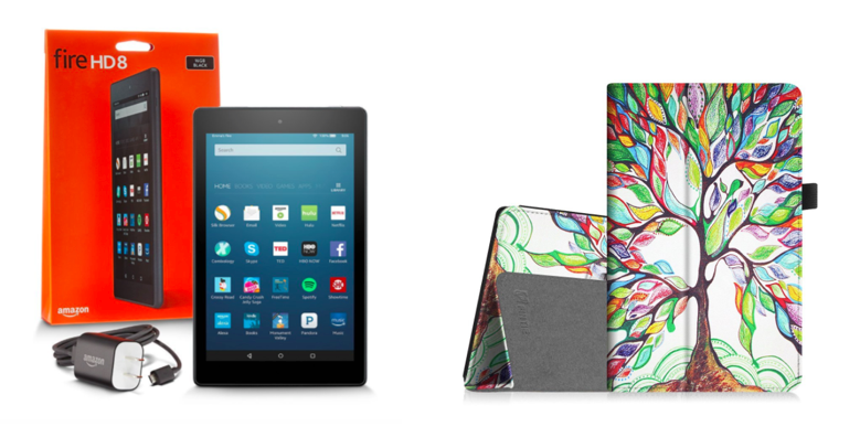 Fire HD8 (32GB) and Folio Case