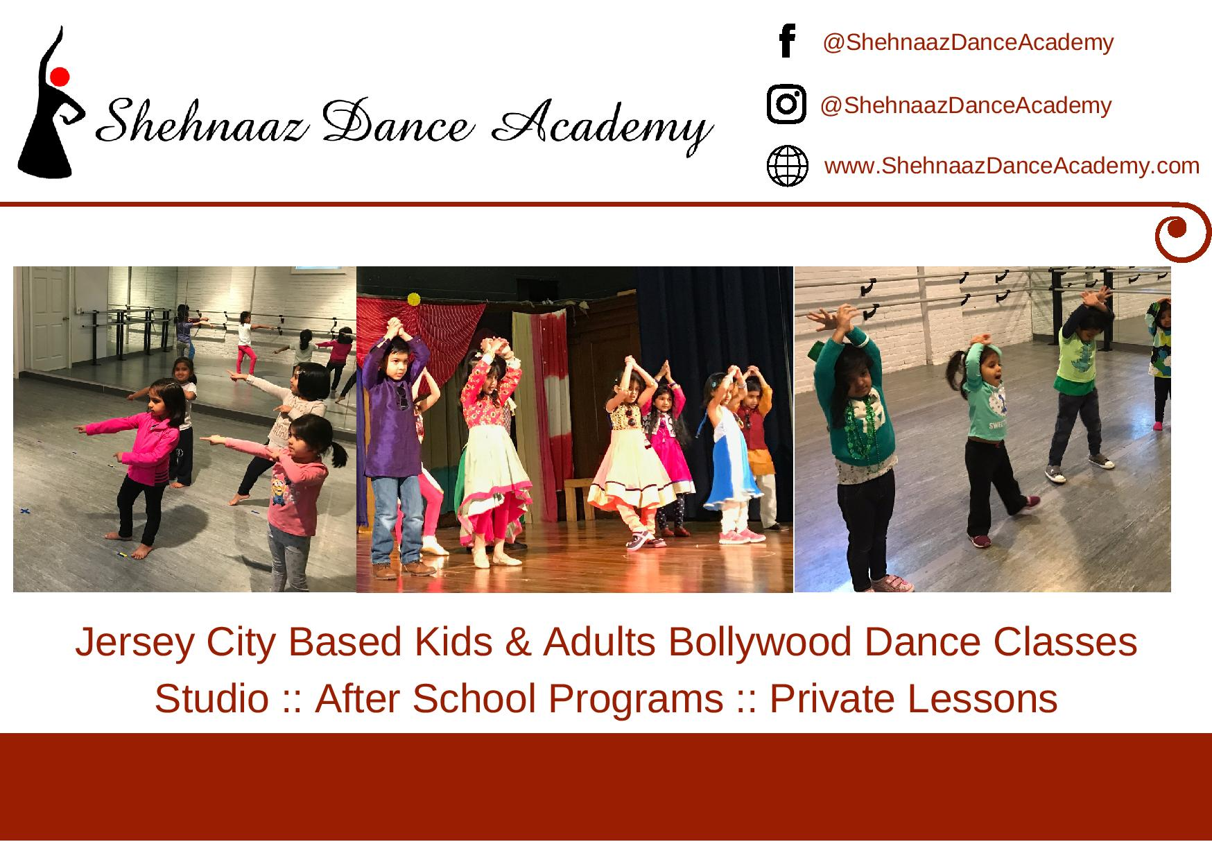 10 Bollywood Classes for all ages!