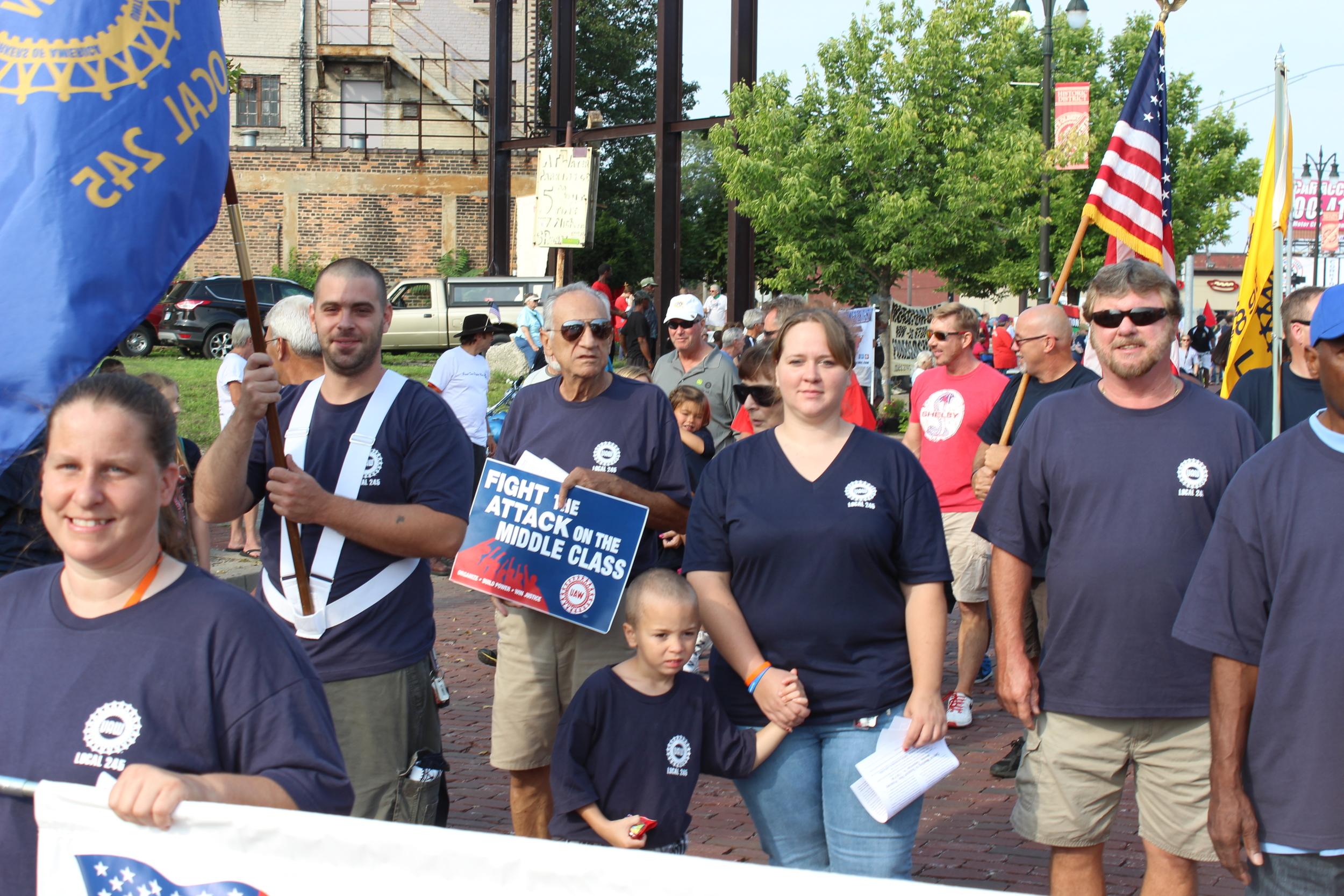 Labor Day Parade 2015