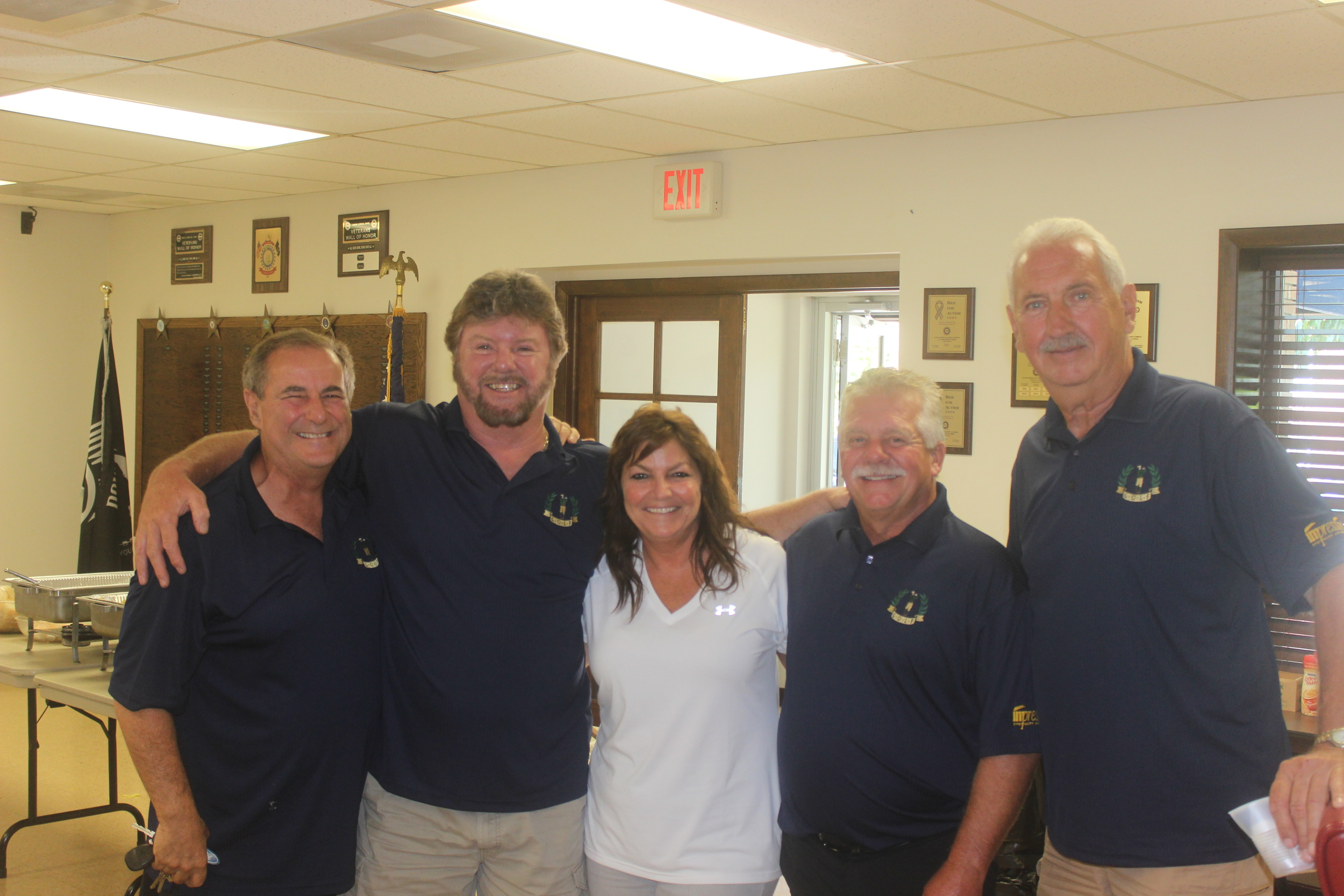Retirees Golf outing 2015