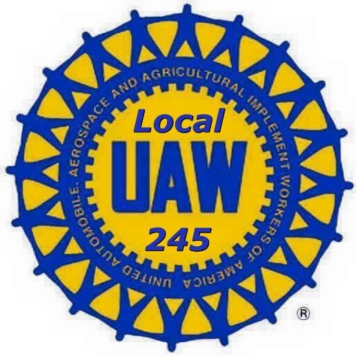 UAW Local 245 Presidetn Kim Moore