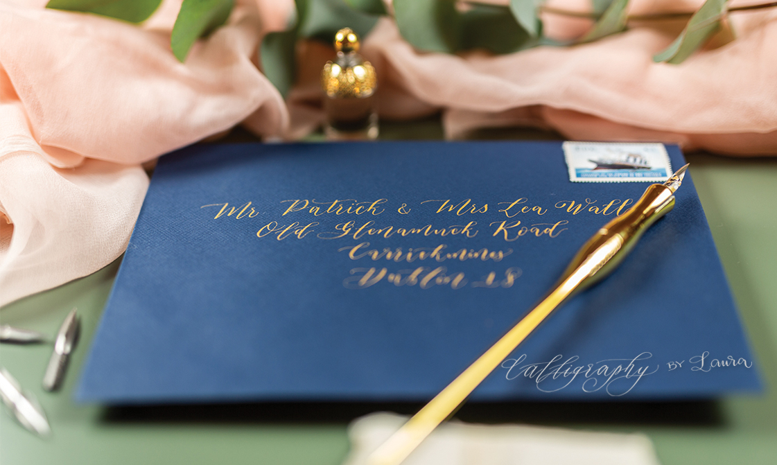 Recommended Suppliers - Dublin-based calligrapher, specialised in the art of handwriting, from classic calligraphy to modern lettering and everything in between