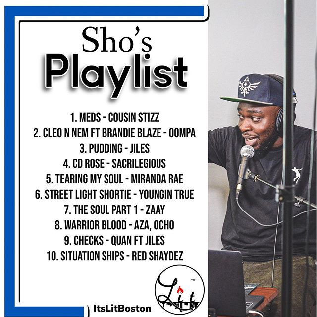 Sho's playlist of the week