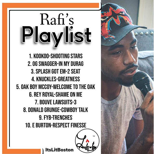 Rafi's playlist of the week