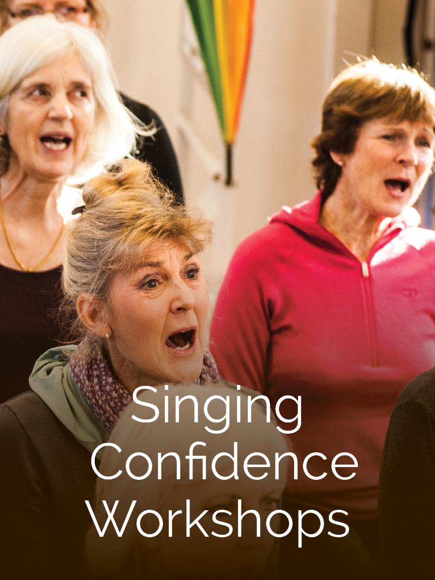 Singing Confidence Workshops