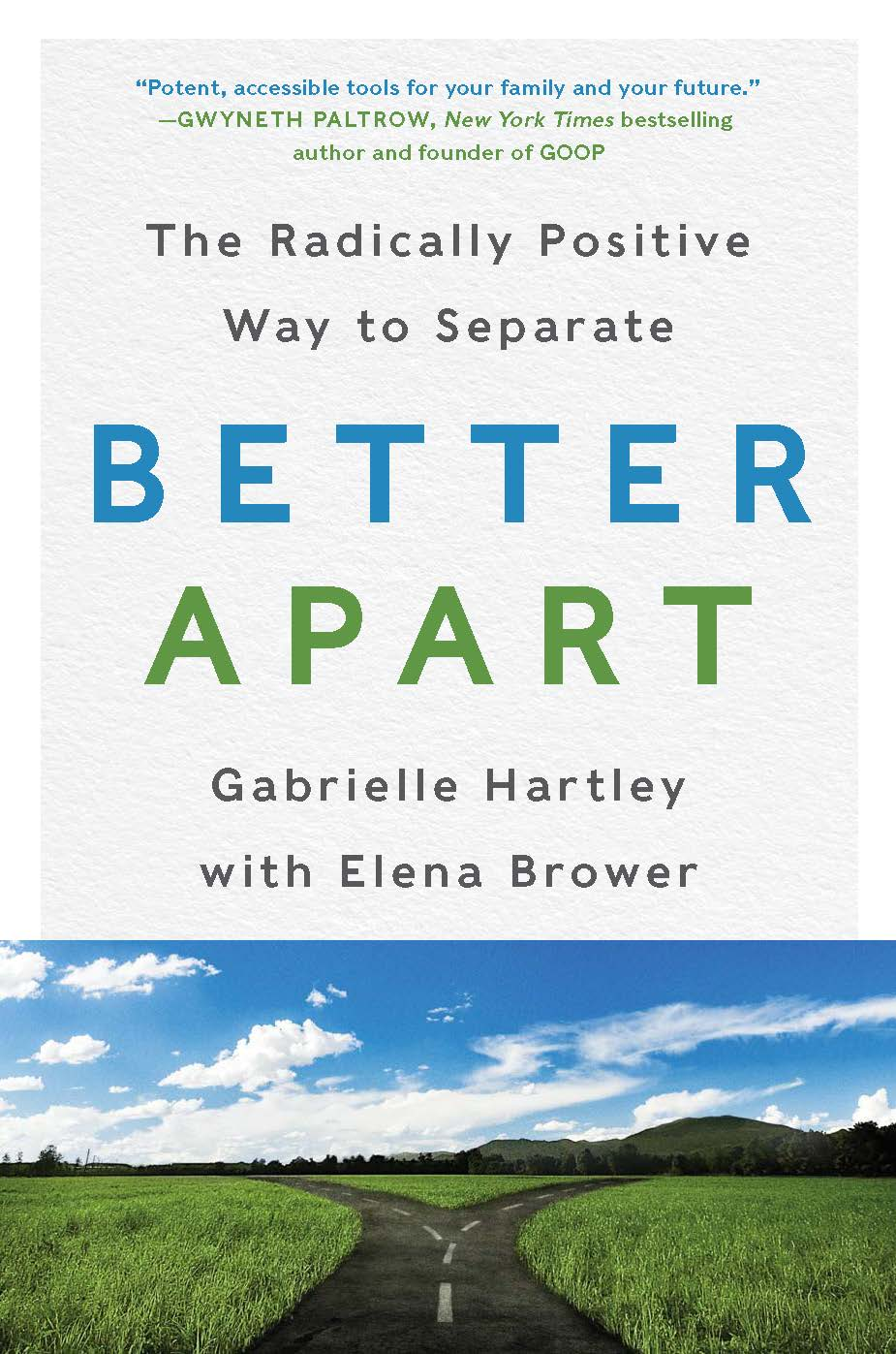 """When going through a tough experience or big transition in your life, how do you navigate the chaos and reach the other side better than you were before? - My friend, Gabrielle Hartley wrote an amazing book, Better Apart: the radically positive way to separate. It combines legal wisdom with many """"potent accessible tools"""" (as described by Gwyneth Paltrow) to help you change your experience and your future when going through a challenging experience such as divorce.As a child of divorced parents myself, I'm so glad to be speaking with Gabrielle about her book and even more excited to share how accessible these tools are for anyone in life.Gabrielle's 5 tools are:PatienceRespectClarityPeaceForgivenessEach of these tools is designed to help you create a new pathway during a break-up (for my readers context, perhaps from an old job) and in life.Have a listen to the first audio interview I've ever done (eek!) to learn more:"""