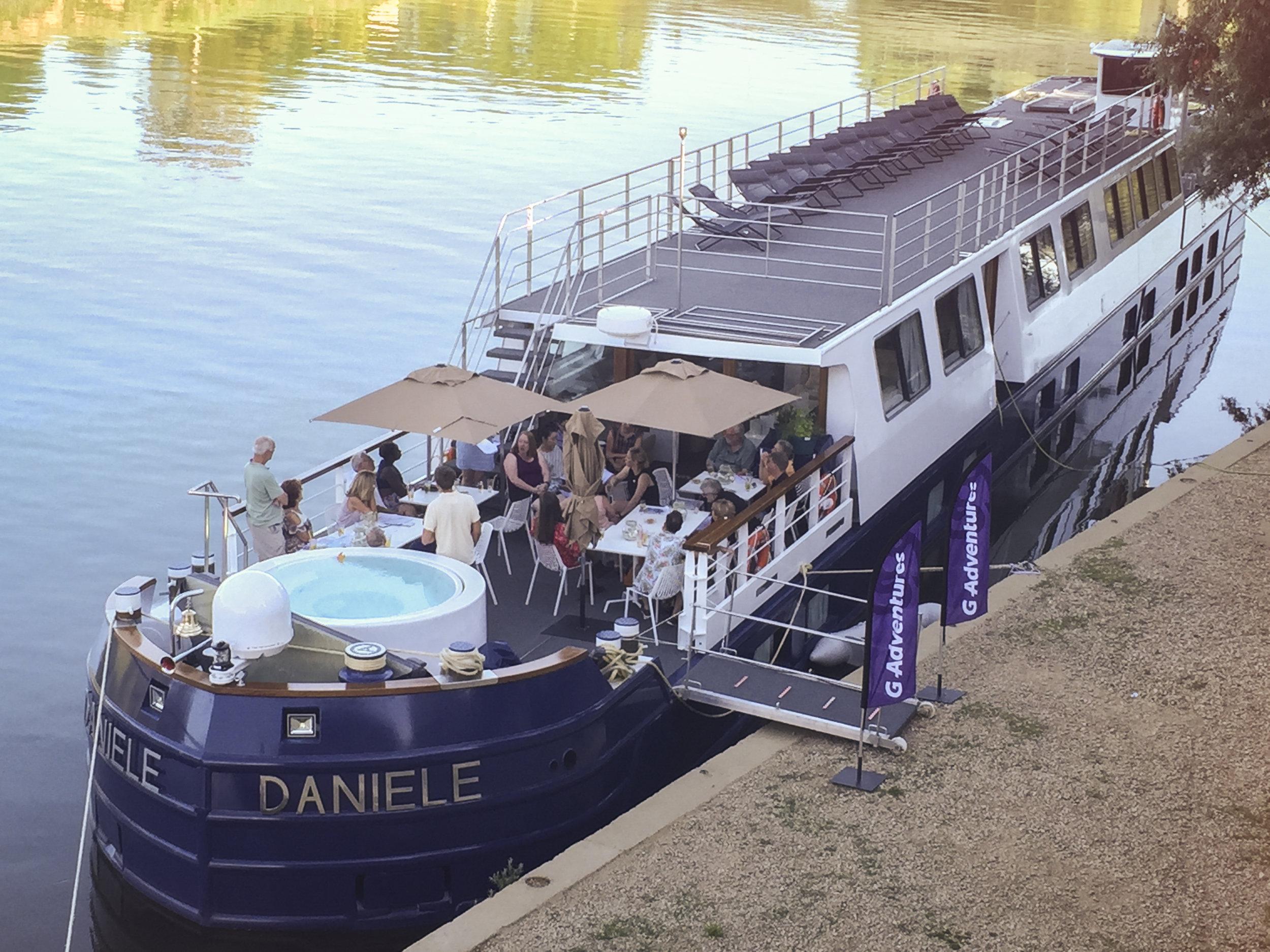France Burgundy Daniele Riverboat Docked Travellers Deck IMG_3038.jpg