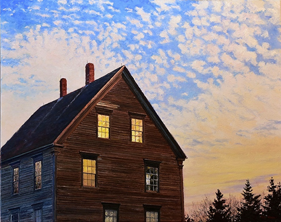 Olson House, oil on canvas - 24 x 30