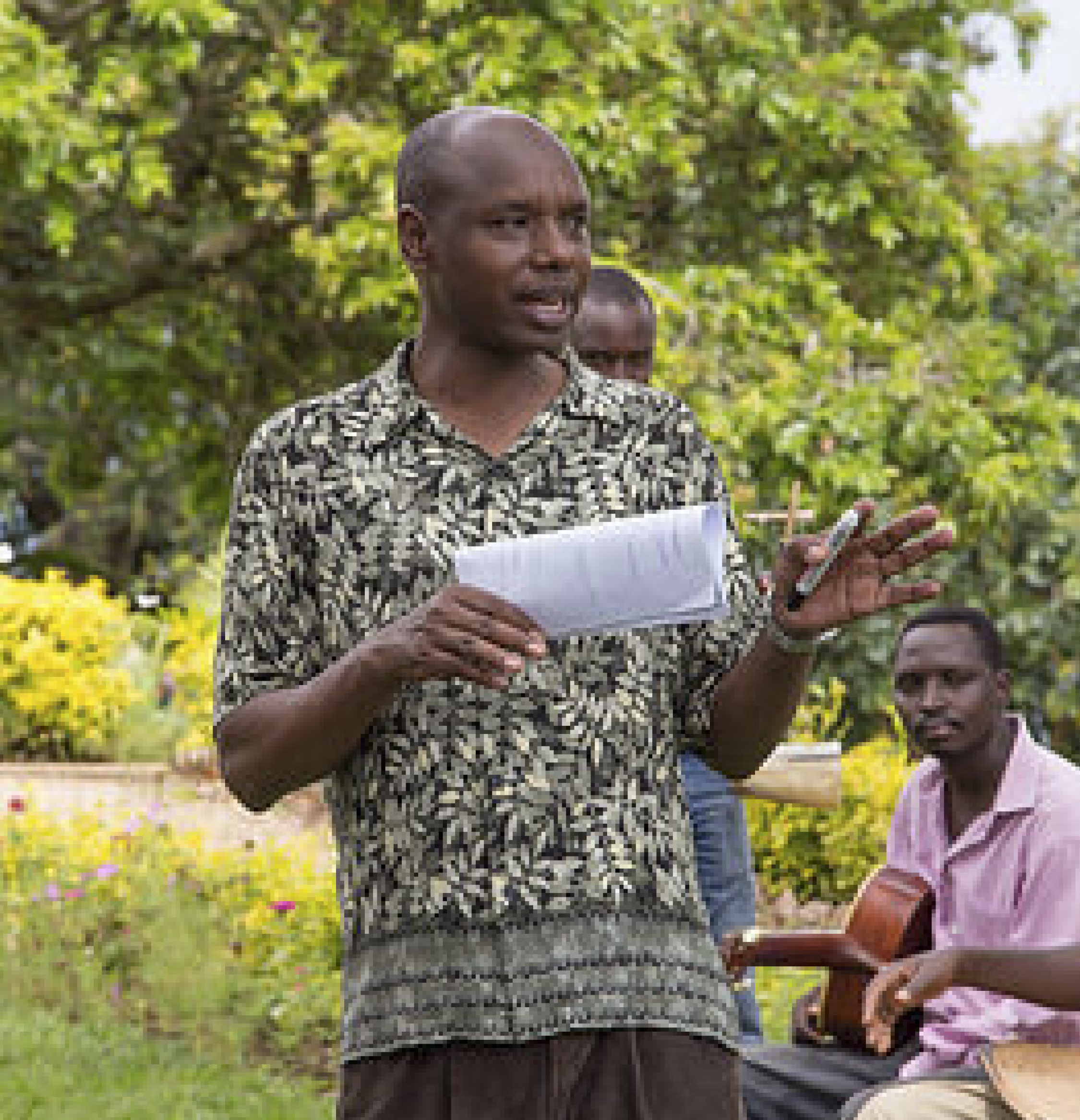Deogratias Niyizonkiza, Founder of Village Health Works