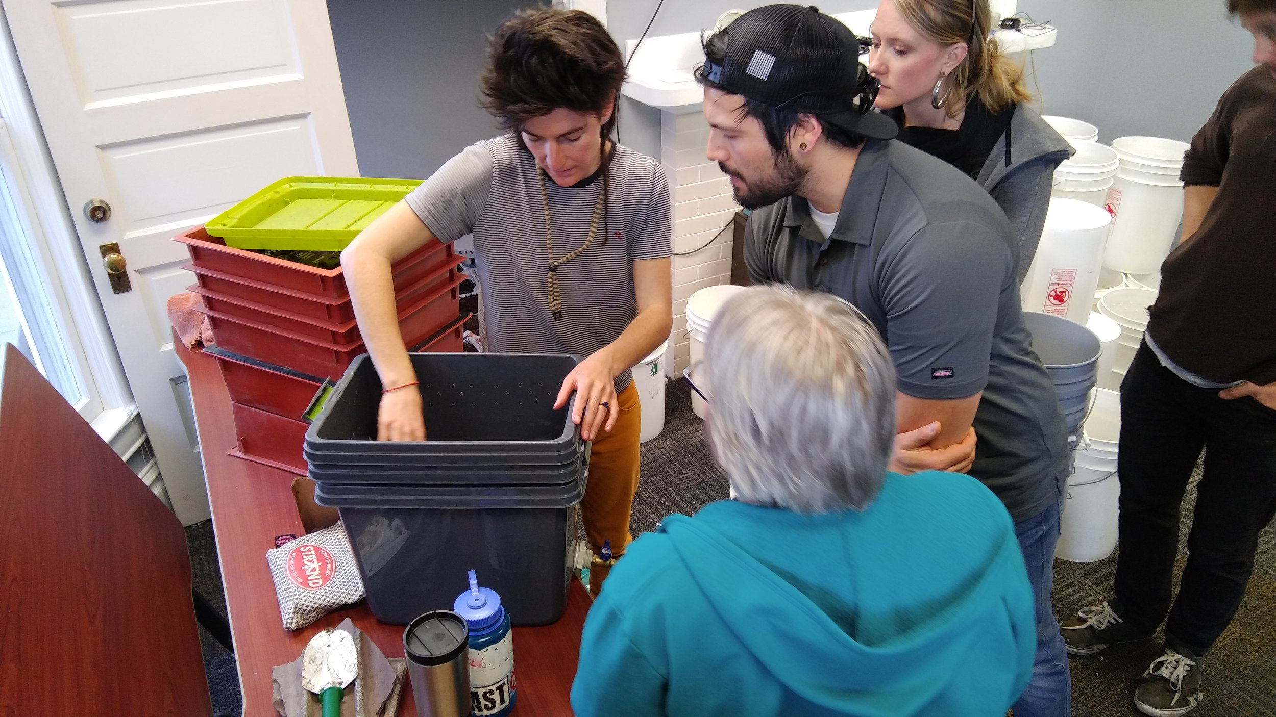 Workshops - Education for DIY composting