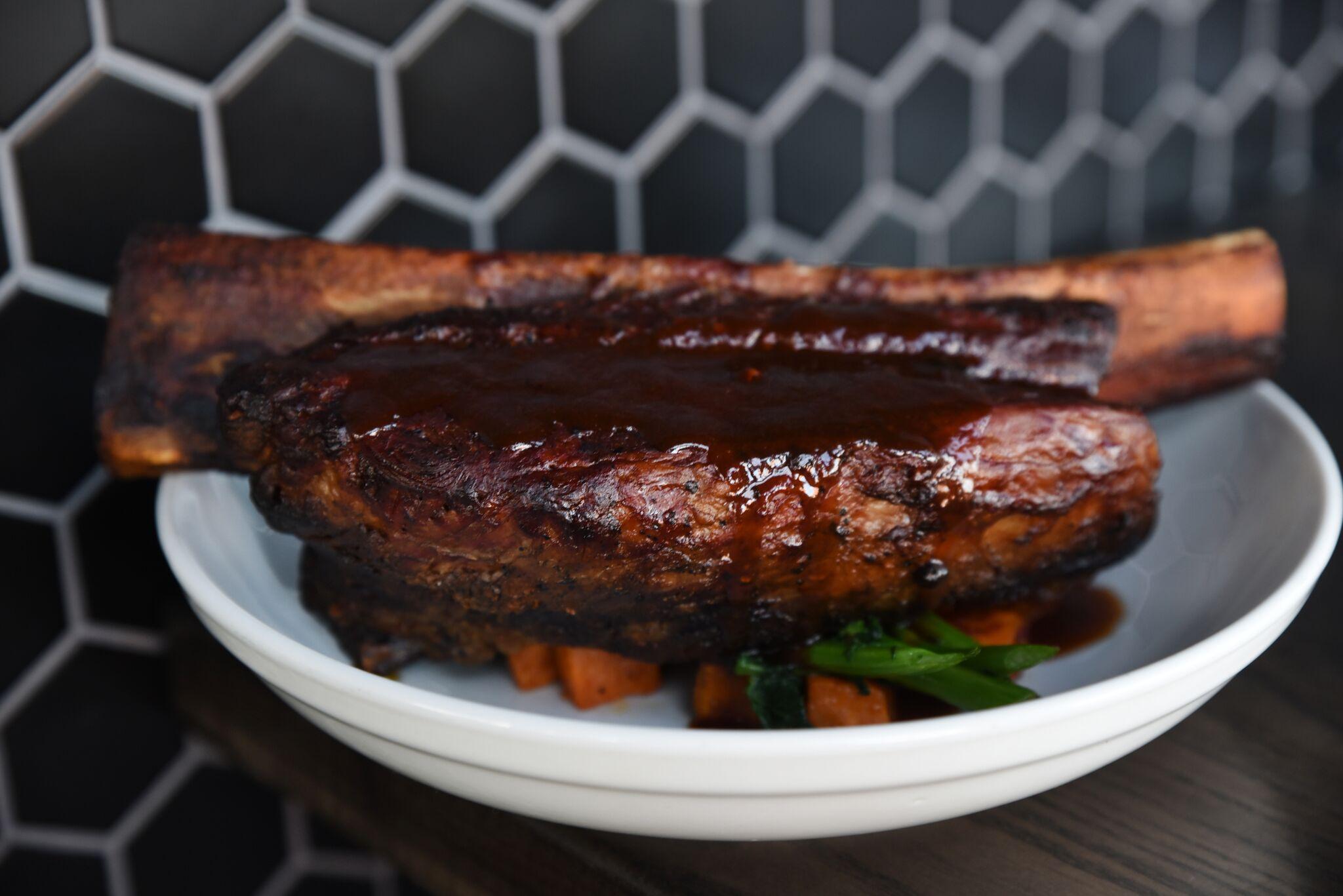 Braised Bone-In Beef Short Rib