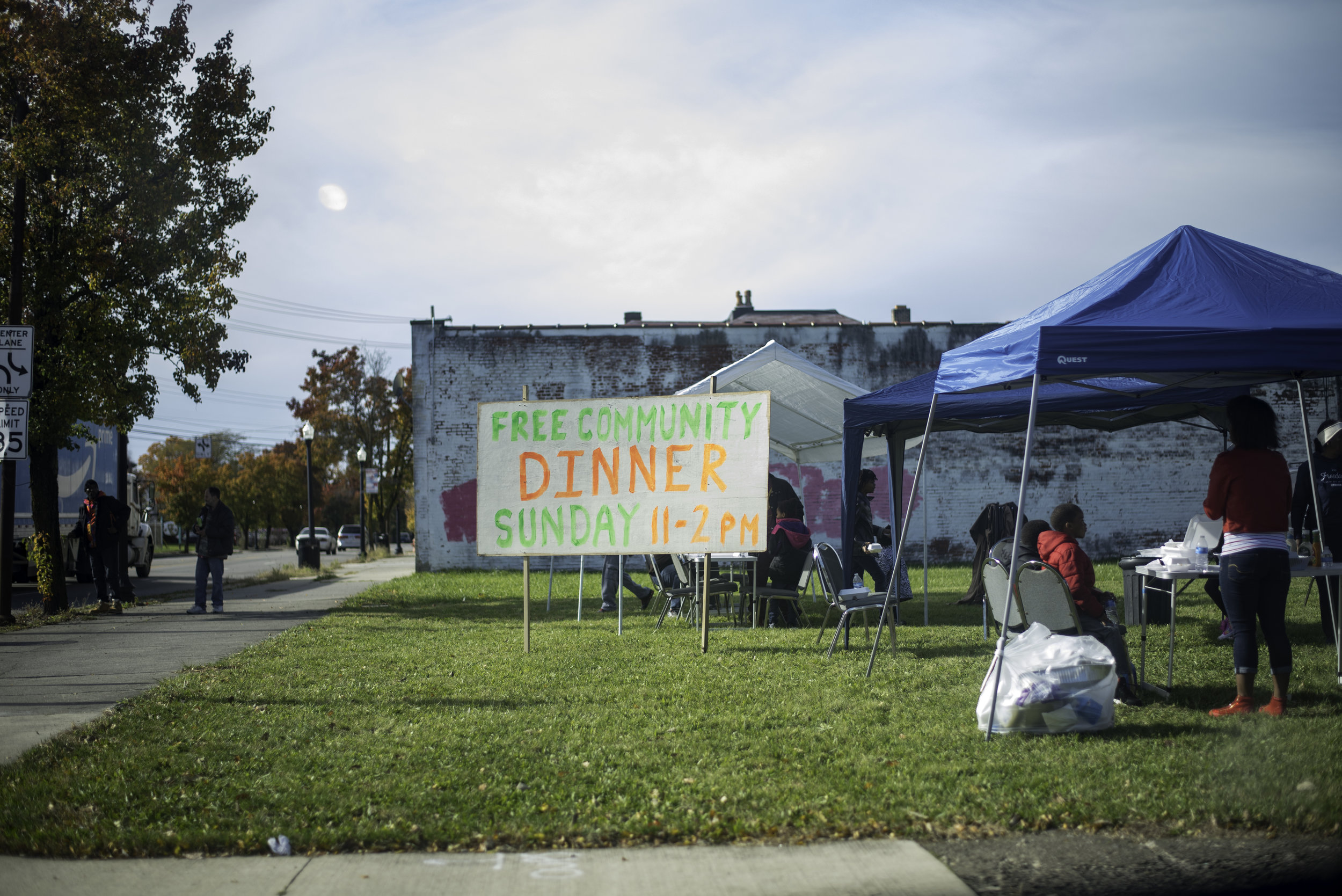 East side of Columbus community meal