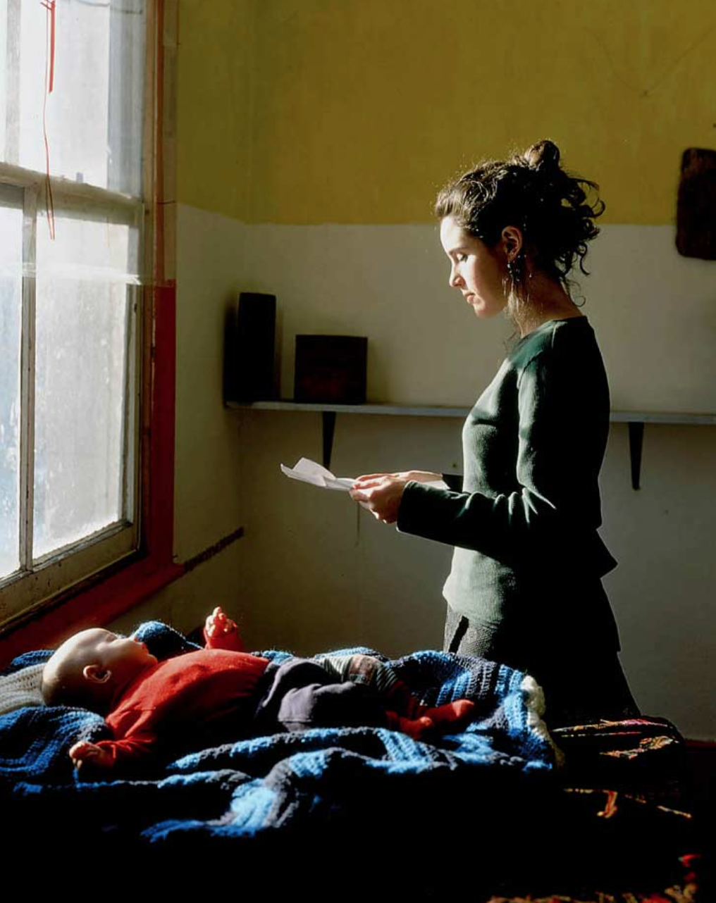 [Woman Reading Possession Order by Tom Hunter]