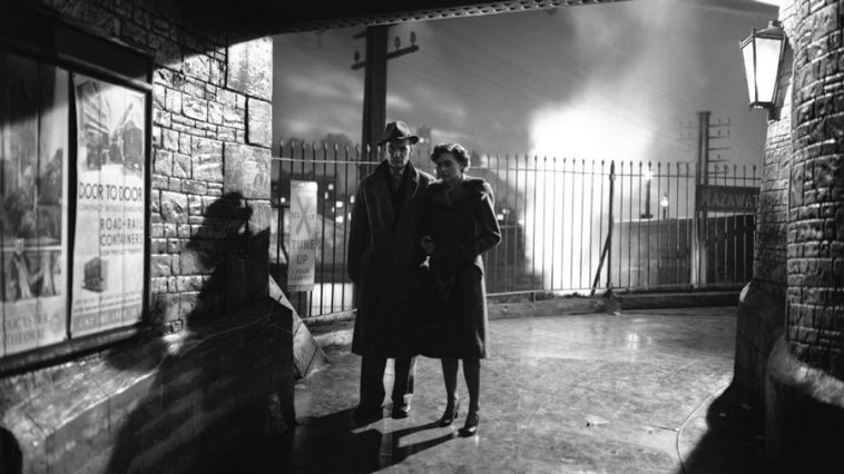 [scene from  Brief Encounters  directed by David Lean]