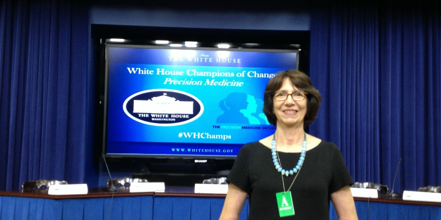 Susan Weiner attends White House Champions of Change Event in 2015