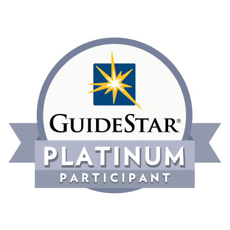 The Platinum Seal of Transparency is the highest level of recognition by GuideStar. -