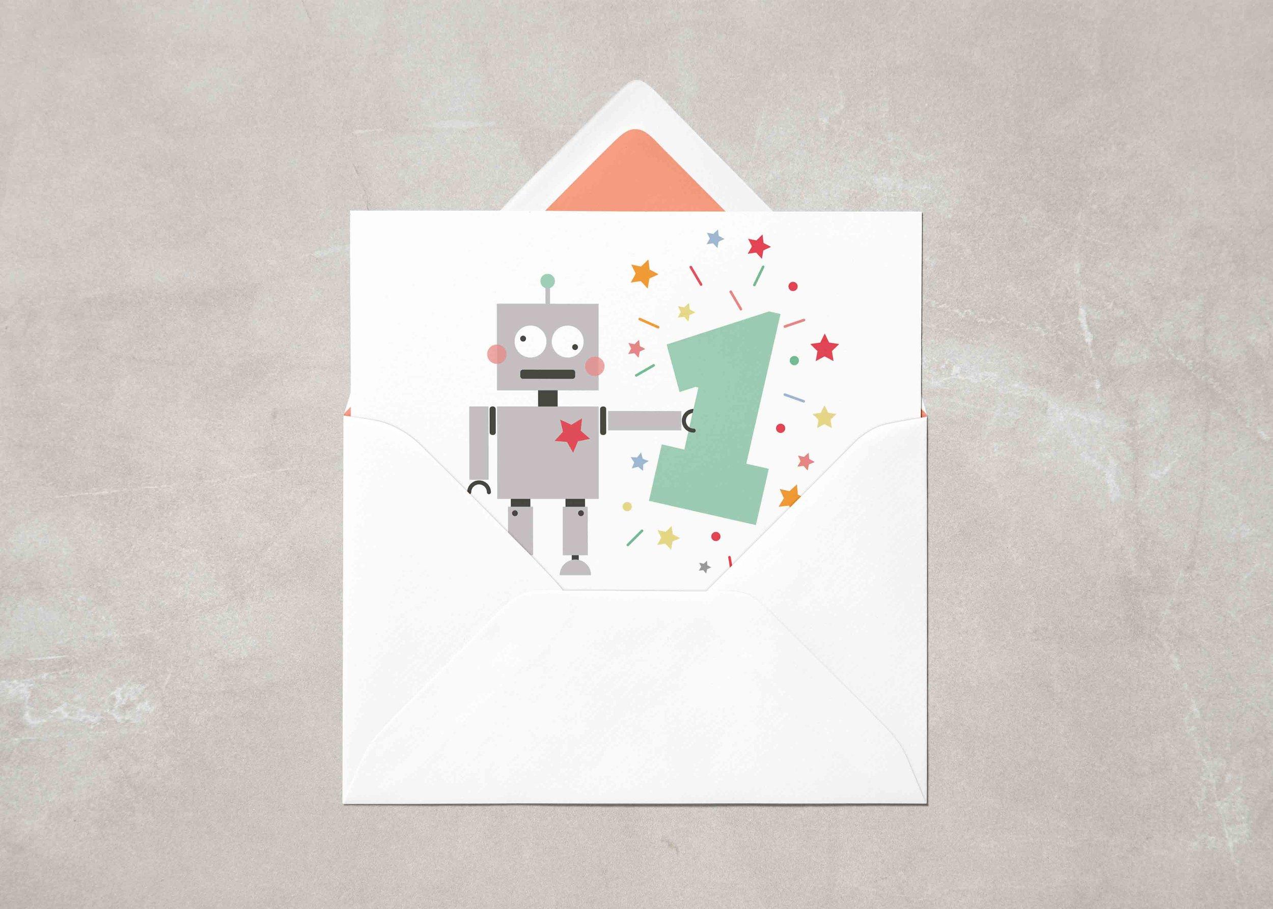 Seaside Fox / Card design