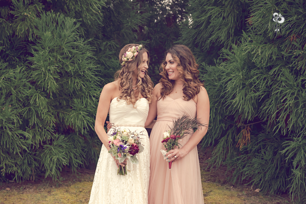 Nora and Donielle (Photo by Jolie Loren Photography)