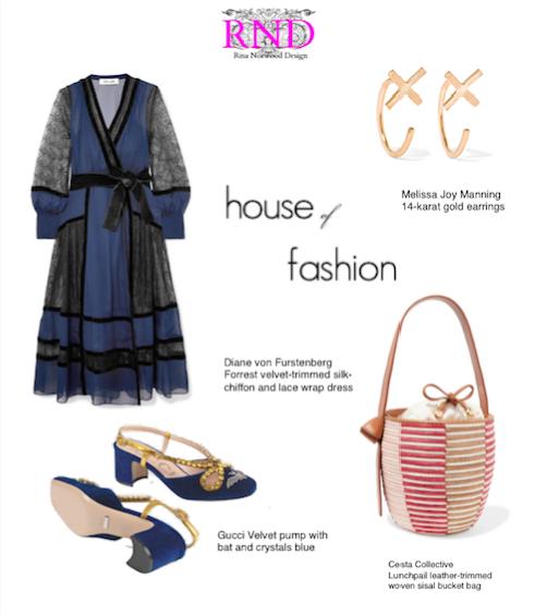 House of Fashion Inspiration Board