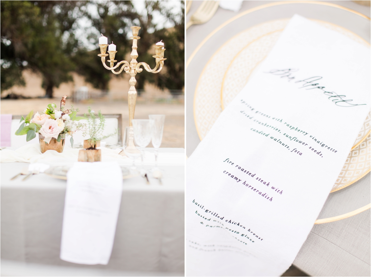 Romantic wedding inspiration at Reinstein Ranch in Livermore, CA. Photos by Briana Calderon Photography based in the San Francisco Bay Area California.